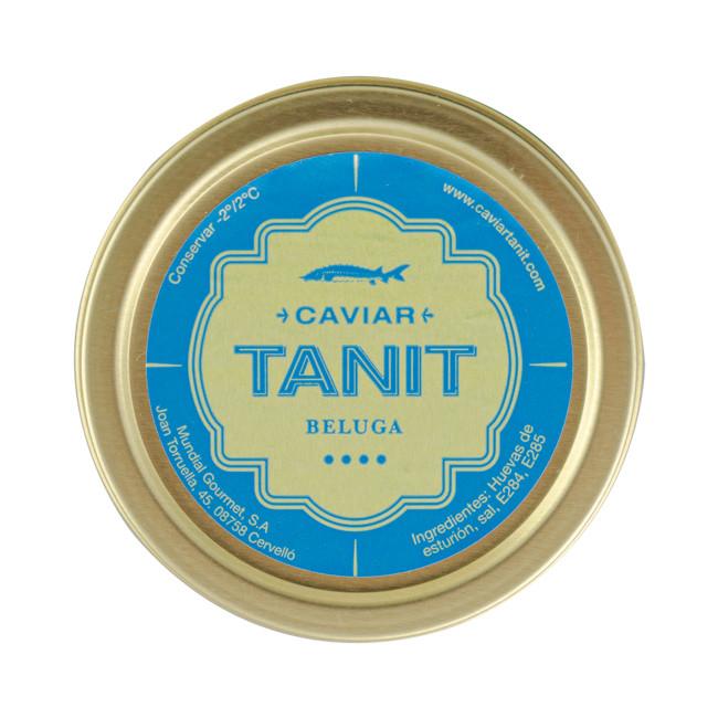 Caviar Tanit Beluga Iraní